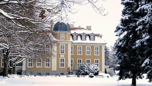 New Castle in the winter